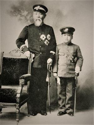 伊藤博文公&李垠殿下