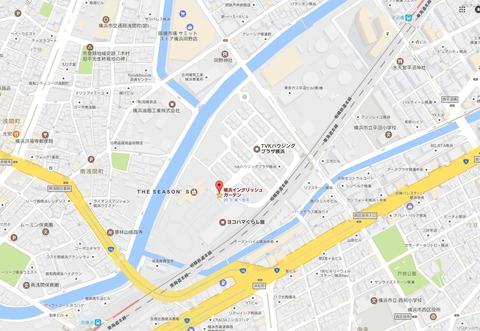 横浜イングリッシュガーデン 位置 久良岐のよし