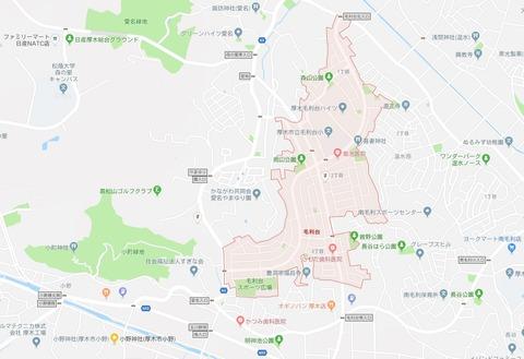 小野神社~毛利台周辺 久良岐のよし