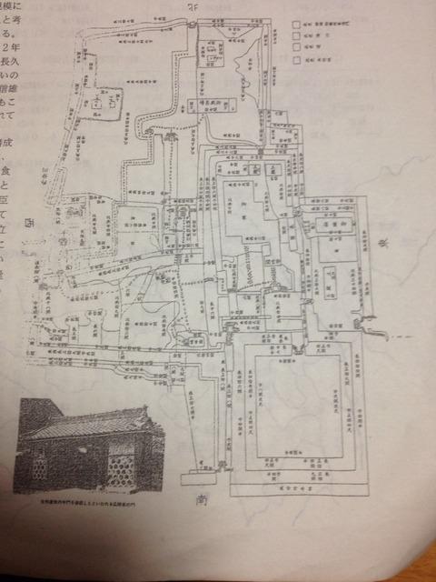 小折城縄張り図