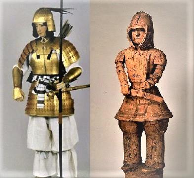 古墳時代の王族の甲冑