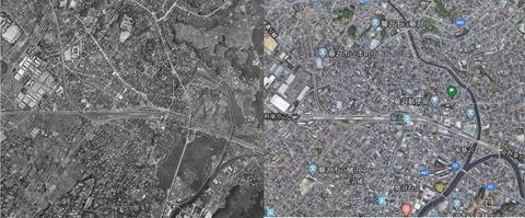 藤沢駅周辺の古今変化 久良岐のよし