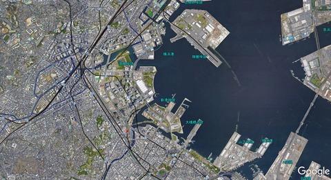 2020年の横浜港 久良岐のよし