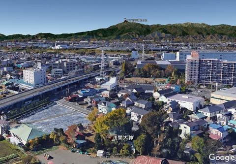 海老名市今泉浅間大神は大山と富士山の遥拝所① 久良岐のよし