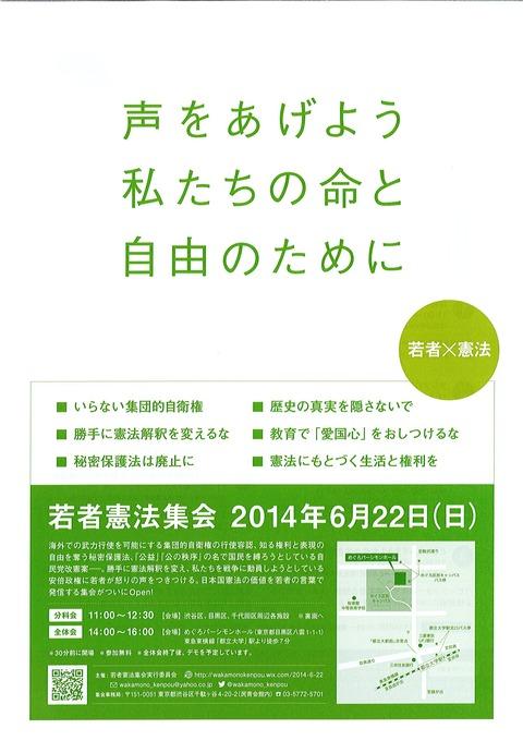 20140622-01若者憲法集会