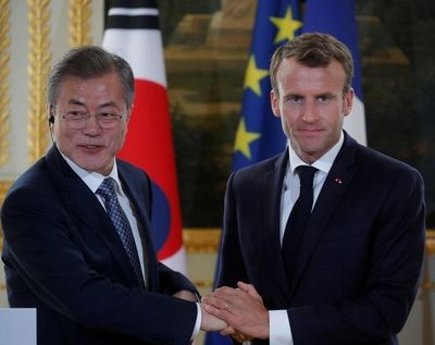 【仏国】フランス大統領、対北朝鮮制裁の緩和へ協力を求めた韓国大統領の要請を拒否