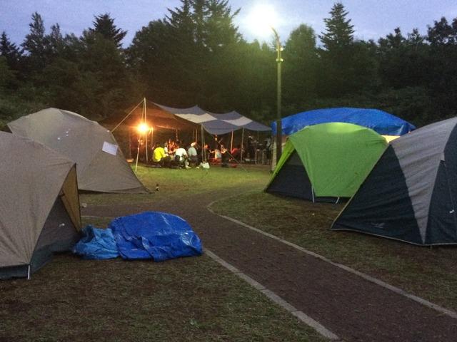 北海道 テント