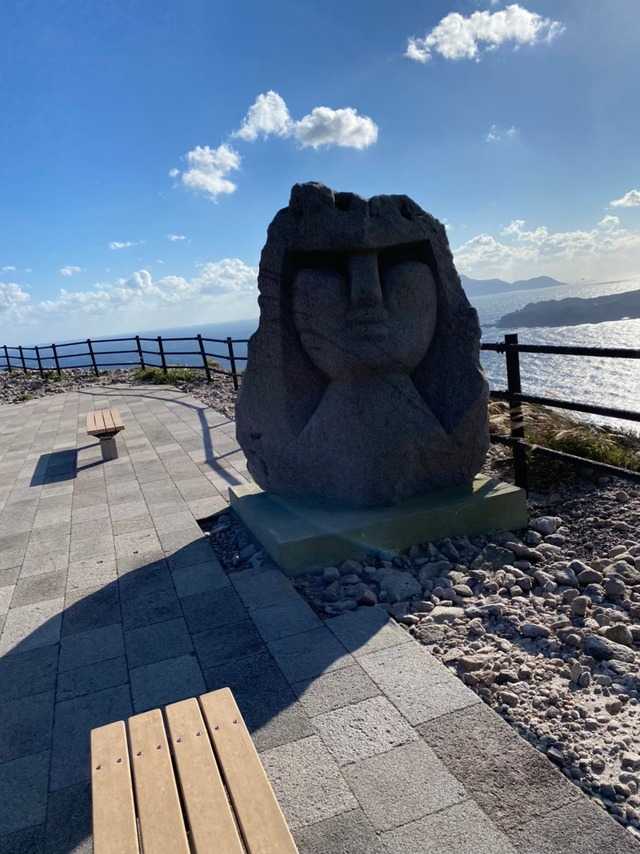 石山展望台トレッキングコース_210207
