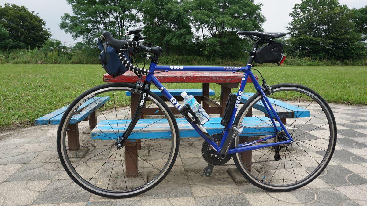 自転車の gios 自転車 評判 : 先週買ったホイールにタイヤを ...