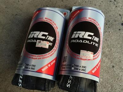 自転車の gios 自転車 評判 : タイヤははめやすいと評判のIRC ...