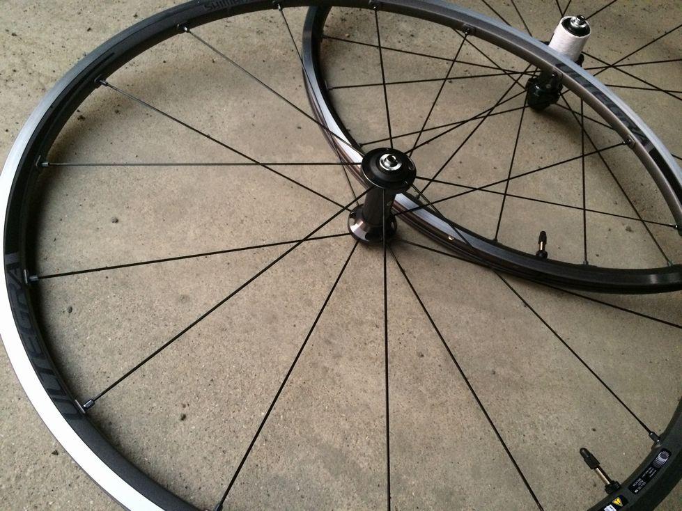 自転車の gios 自転車 評判 : 買ったホイールはSHIMANOのWH-6800 ...