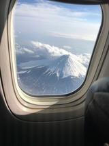 富士山の真横