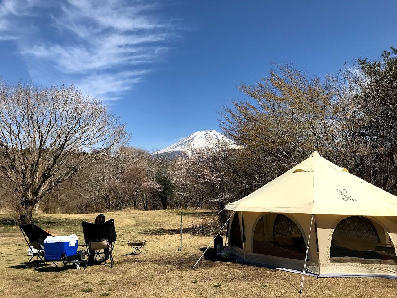 ジャンボリー オート キャンプ 場 朝霧