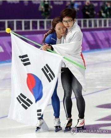 李相花、小平奈緒との写真をインスタに掲載・・・「私は2位で満足」