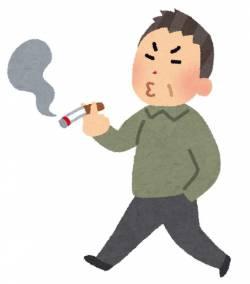 歩きタバコしてるオッサンに注意したったwwwwwwwwwwwwww