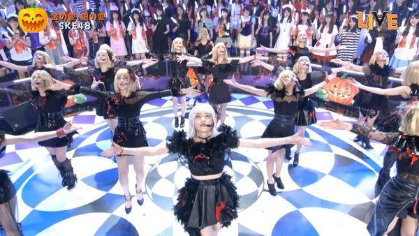 【TBSハロウィン音楽祭2016】「SKE48が「金の愛、銀の愛」を披露!」の感想まとめ(キャプチャ画像あり)