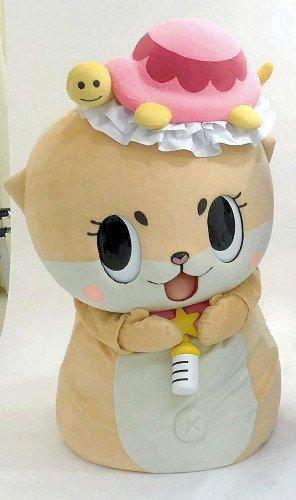 高知県須崎市のゆるキャラ「ちぃたん☆」 過激動画で観光大使をクビに