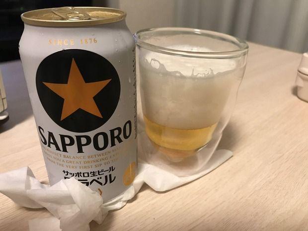 生まれて初めてビール飲みます!!!!!!