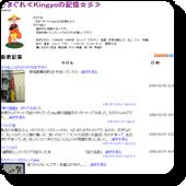 きまぐれ≪Kingyoの記憶☆彡≫/ウェブリブログ