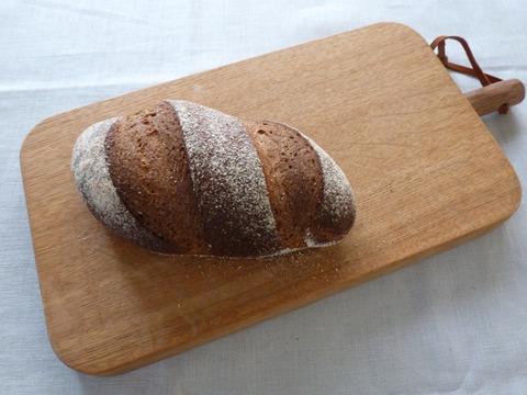 簡単なライ麦パン