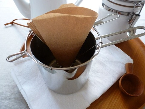 コーヒーのための道具