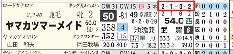 ヤマカツマーメイド(全成績)