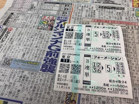 東京スポーツ杯2歳Sの馬券
