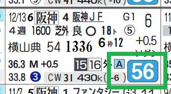オパールムーン(阪神JF)