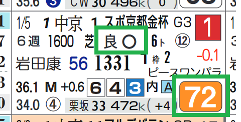 ケイデンスコール(京都金杯)