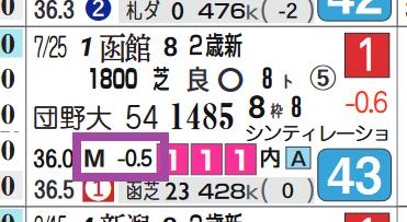 トップキャスト(新馬戦)