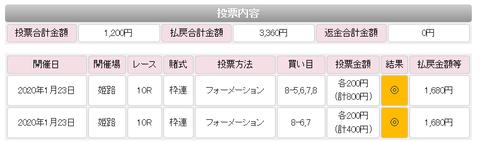 姫路の馬券2