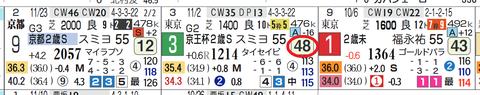 ヴァルナ(京王杯2歳Sの「ハイブリッド指数」)