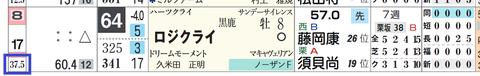 ロジクライ(「馬番別連対率」)