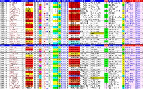 「データパック」弥生賞