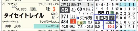 タイセイトレイル(川田騎手)