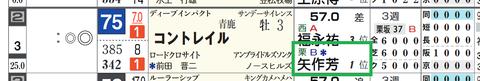コントレイル(矢作厩舎)