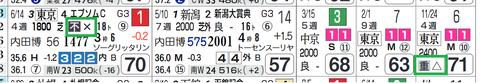 ダイワキャグニー(「馬場レベル」)
