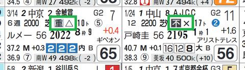 サトノフラッグ(近2走)