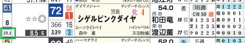 シゲルピンクダイヤ(「馬番別連対率」)