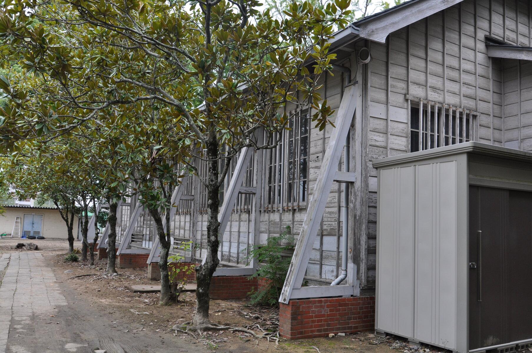 岡山市中区 旧制第六高等学校の建物 : 町並み散策と近代建築
