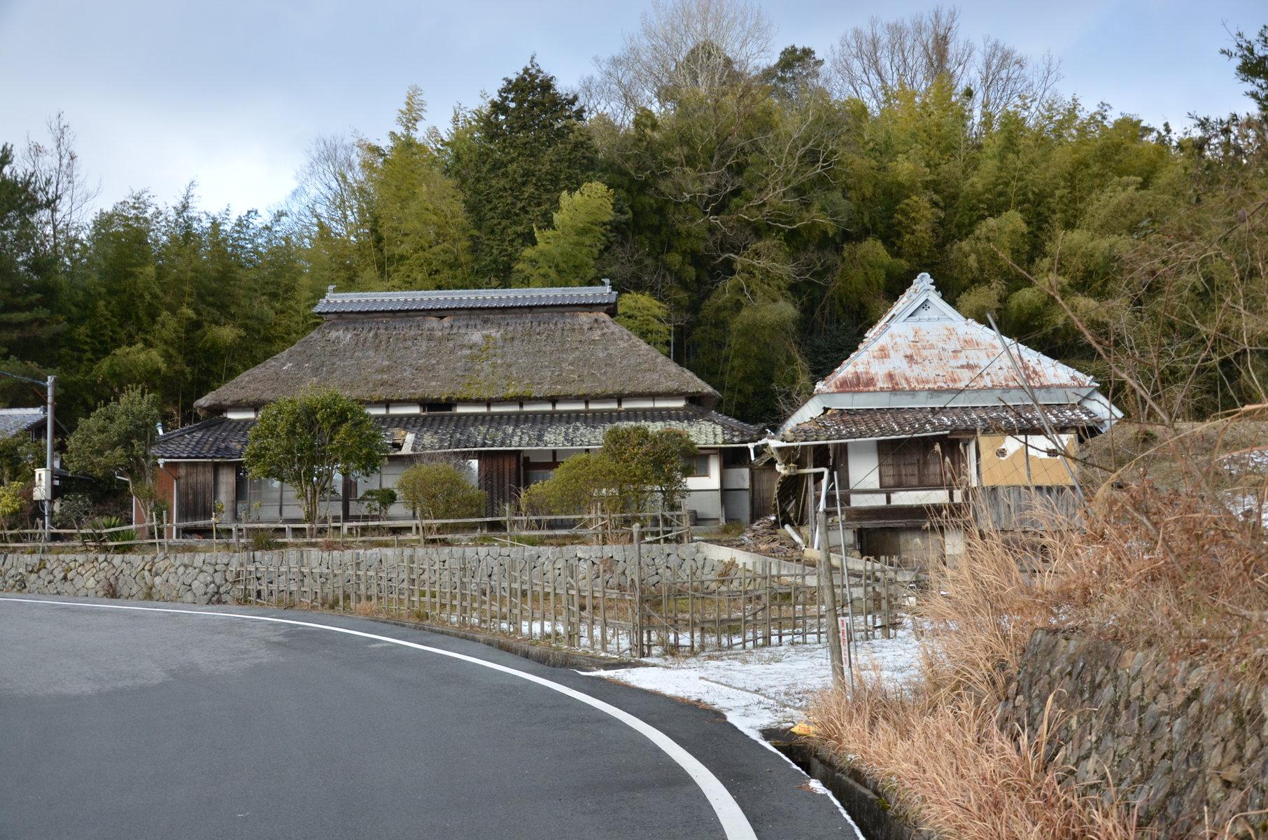 岡山県備前市 八塔寺ふるさと村 町並み : 町並み散策と近代建築