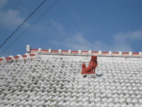 屋根シーサーA