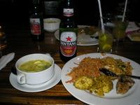 食事&ビール