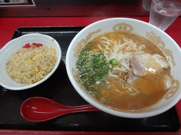 冠生園 関上道広のラーメン ミニ焼飯   (2)
