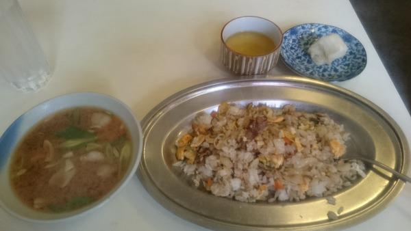南星 焼き飯+豚汁 (2)