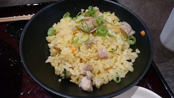 鶏そば 半炒飯セット (4)
