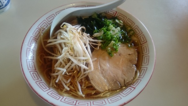 ささき焼肉店 中華そば  (2)