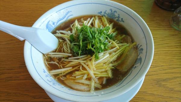 ふくみ家 黄にらラーメン (2)