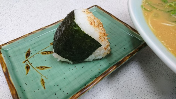 ラーメンショップKANTO高屋店 みそねぎ+おむすび   (4)