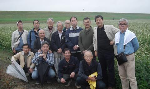 1そば畑集合DSCF7579